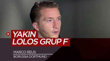 Berita Video wawancara Marco Reus yang berbicara peluang Borussia Dortmund di Liga Champions musim ini