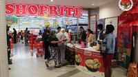 KBRI Windhoek mempromosi produk Indonesia di Pasar Swalayan Shoprite, Swakopmund, Namibia. (Photo dok. KBRI Windhoek)