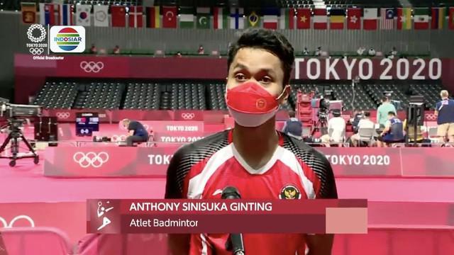 Berita Video, Erick Thohir Berikan Dukungan untuk Anthony Sinisuka Ginting di Laga Semifinal Olimpiade Tokyo 2020