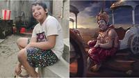 Editan Pria Ini Ubah Foto Biasa Jadi Tokoh Mahabarata, 6 Hasilnya Bikin Takjub. (Sumber: Instagram/karanacharya7)