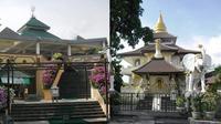 5 Potret Tempat Ibadah Beda Agama Saling Bersandingan (sumber: twitter/@fiqihfabulous)