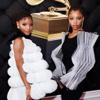Tren fashion 2019 dari Grammy Awards 2019 Credit: Instagram @chloexhalle