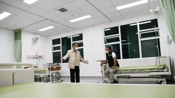 Keterisian Tempat Tidur Rumah Sakit COVID-19 Jawa Barat di Angka 9,3 Persen