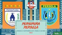 Shopee Liga 1 - Persipura Jayapura Vs Persela Lamongan (Bola.com/Adreanus Titus)