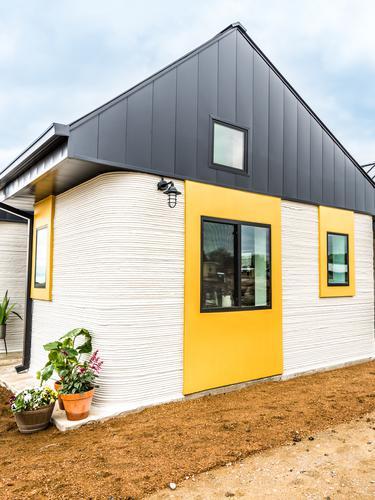 Rumah cetak 3D untuk Tunawisma. Dok: iconbuild.com