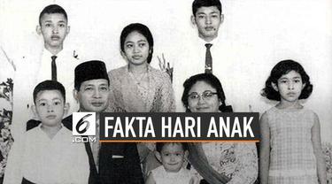 Setiap tanggal 23 Juli diperingati sebagai Hari Anak Nasional (HAN). Momen ini jadi salah satu hari penting Presiden Soeharto saat itu.