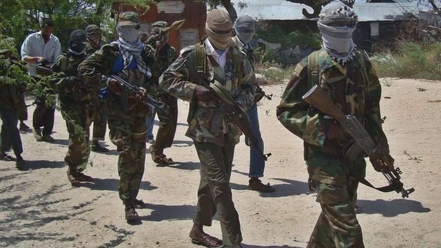 Kelompok militan al-Shabab di Somalia (AFP/Mohamed Abdiwahab)