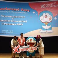 Traveloka Xperince berkolaborasi dengan Doraemon