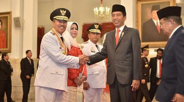 Syamsuar Edi Dilantik Presiden, Alfedri Yakin Riau Lebih Baik