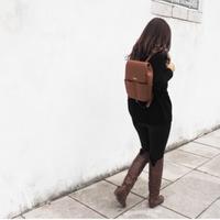 Padu padan outfit yang tepat menggunakan backpack (Instagram/kanevas.inc)