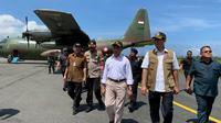 Ketiga pesawat bertolak dari Natuna pada pukul 13.15 WIB dan pesawat terakhir pada pukul 14.00 WIB, kemudian mendarat di Jakarta sekitar pukul 15.46 WIB.