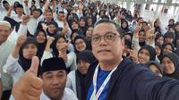 Ratusan guru madrasah menyampaikan keluhannya di Rumah Aspirasi Jokowi-Ma'ruf (Istimewa)