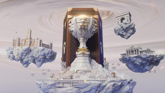 Piala Juara League of Legends Kolaborasi dengan Luis Vuitton. Kredit: Riot Games