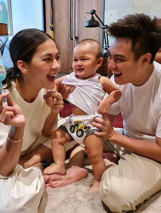 Kiano Tiger Wong anak Baim Wong dan Paula Verhoeven (Instagram/baimwong)
