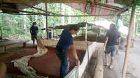 Saat tiba di lokasi, Tim Resmob Polres Minahasa Selatan tidak menemukan adanya kegiatan judi sabung ayam.