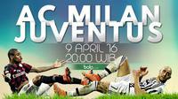 AC Milan vs Juventus (Bola.com/Samsul Hadi)