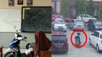 6 Foto Parkir Motor Sembarangan Ini Bikin Geleng Kepala