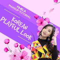Makeup Tutorial Korean Playful Look