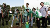 RAN ikut ambil bagian dalam penanaman pohon trembesi di Ambarawa, Semarang, Jawa Tengah