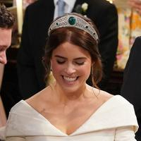 Pernikahan Putri Eugenie - Jack Brooksbank (Jonathan Brady / POOL / AFP)