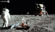 Banner Infografis Apollo dan Jejak Manusia di Bulan. (Sumber Foto: AFP)