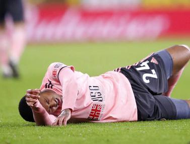 FOTO: Dihajar Burnley, Sheffield United Semakin Tenggelam di Dasar Klasemen Liga Inggris