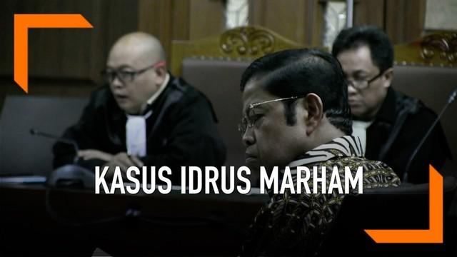 Mantan menteri sosial Idrus Marham dituntut jaksa hukuman 5 tahun penjara dalam sidang tipikor yang digelar hari Kamis (21/3)