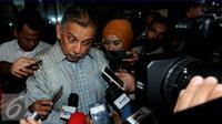 Dirut PT PLN, Sofyan Basir mengatakan apabila perlu, pihaknya akan mengajak KPK bekerja sama dalam pengawasan proyek listrik 35.000 MW tersebut, Jakarta, Senin (30/5/2016). (Liputan6.com/Helmi Afandi)