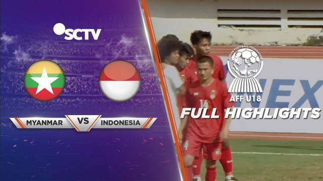 Berita video highlights Piala AFF U-18 2019 antara Myanmar melawan Timnas Indonesia yang berakhir dengan skor 1-1, Rabu (14/8/2019).