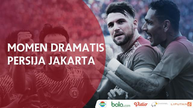 Berita video momen Persija Jakarta dai babak penyisihan grup hingga semifinal Piala Presiden 2017-2018.