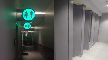 6 Desain Toilet Umum Ini Unik, Ada yang Dilengkapi Speaker Bluetooth