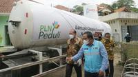 PLN menyalurkan oksigen sebanyak 11,9 ton ke 4 rumah sakit di Jawa Tengah dan Daerah Istimewa Yogyakarta (DIY).