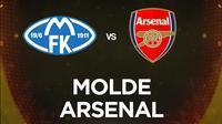 Liga Europa - Molde Vs Arsenal (Bola.com/Adreanus Titus)