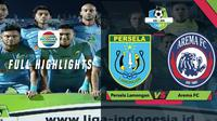 Berita video highlights Gojek Liga 1 2018 bersama Bukalapak antara Persela Lamongan melawan Arema FC yang berakhir dengan skor 4-0, Jumat (16/11/2018).
