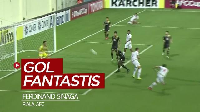 Berita video momen gol fantastis striker PSM Makassar, Ferdinand Sinaga, saat menghadapi Tampines Rovers di Piala AFC 2020.