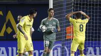 Luca Zidane debut di Real Madrid ketika melawan Villarreal. (AP Photo/Alberto Saiz)