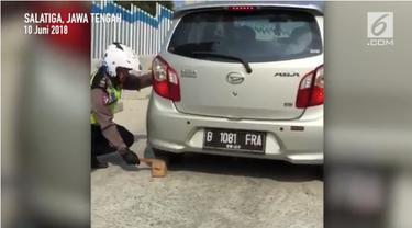 Mesin mobil Daihatsu Ayla mati saat tanjakan.