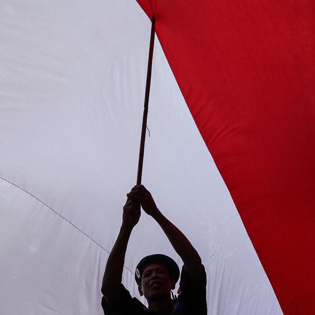 Bendera Merah Putih Akan Berkibar Di Sepanjang Perbatasan Kalimantan Dan Malaysia Regional Liputan6 Com