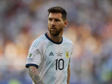 Argentina akan menghadapi tuan rumah Brasil pada semifinal Copa America 2019. (AFP/Carl De Souza)