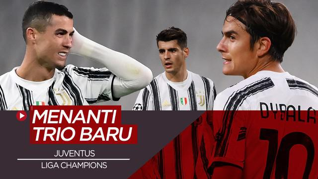 Berita video, Cristiano Ronaldo akan tampil bersama trio baru Juventus di Liga Champions