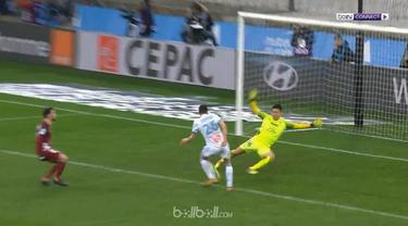 Florian Thauvin memborong tiga gol saat Marseille memenangkan laga dengan skor 6-3 kontra Metz, Sabtu (3/2) dini hari WIB. Thauvin...