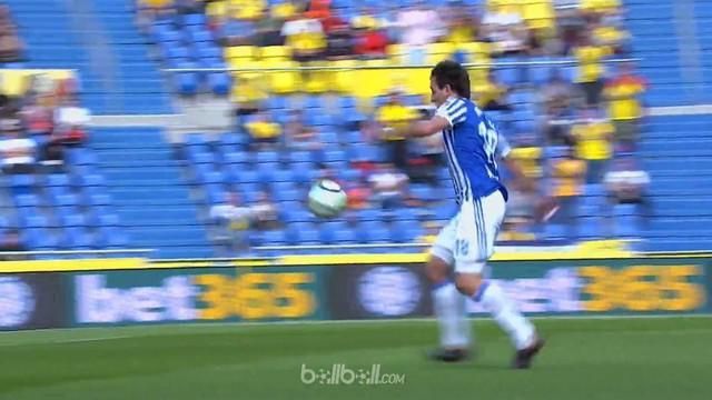Las Palmas kembali harus menelan kekalahan usai takluk 1-0 dari Real Sociedad dalam lanjutan Liga Spanyol. Gol tunggal Mikel Oyarz...