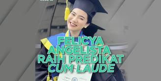 Felicya Angelista Raih Predikat Cum Laude, Wisuda dalam Kondisi Hamil