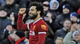 2. Mohamed Salah (Liverpool) - 24 Gol (1 Penalti). (AP/Rui Vieira)