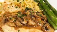 Ayam marsala, makanan enak dan baik untuk diet