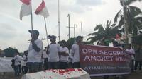 Demo mendesak DPR membentuk pansus Jiwasraya (Istimewa)
