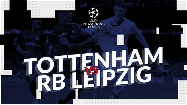 Berita video statistik Tottenham Hotspur vs Rb Leipzig pada leg pertama Liga Champions 2019-2020, Kamis (20/2/2020) di Tottenham Hotspur Arena, London.