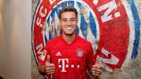 Philippe Coutinho resmi menjadi pemain Bayern Munchen. (dok. Bayern Munchen)