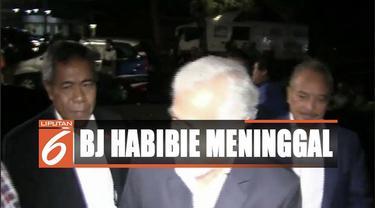 Mantan Presiden Timor Leste Xanana Gusmao melayat ke kediaman mendiang BJ Habibie.