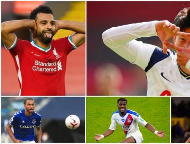 Top Skor Sementara Liga Inggris, Son Heung-Min Melesat ke Puncak